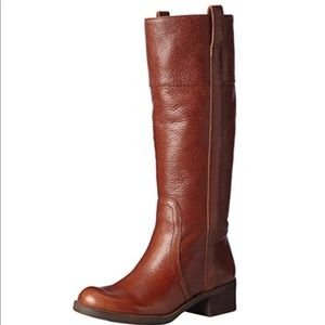 Lucky Brand Leather Tall Boots 9 1/2